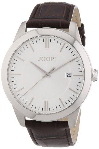 Joop JP101061F03 - Reloj analógico de cuarzo para hombre con correa de piel, color marrón