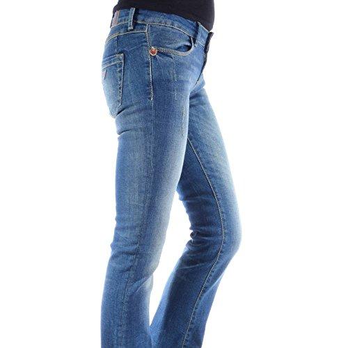 Guess Damenjeans W27 L34 110 W53A87D1VT0 AZUW denim Damen Jeans Hose (Guess Jeans Boot)
