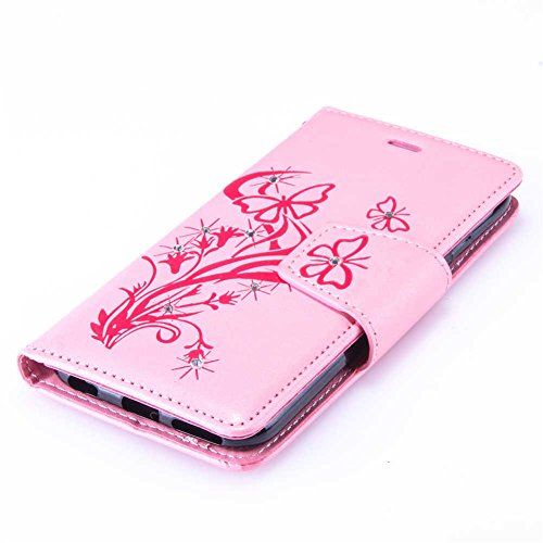 """iPhone 6/6S Coque, LANDEE PU Leather Bling Bling Gaufrage Etui Housse Flip Case Coque Pour iPhone 6 / iPhone 6S (4.7"""") (6S-P-0612) 6S-P-0603"""