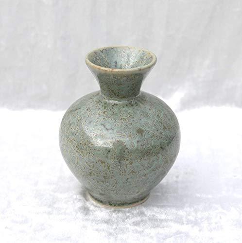 Blumenvase Keramik Töpferei 12 cm - schöne Geschenkidee