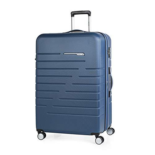 JASLEN - 56670 Maleta Trolley 70 cm Grande XL ABS. Expandible. Rígida, Resistente, Robusta y Ligera. Gran Capacidad. Mango telescópico, 2 Asas, 4 Rued
