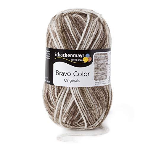 Schachenmayr Bravo Color 9801421-02111 beige denim Handstrickgarn, Häkelgarn