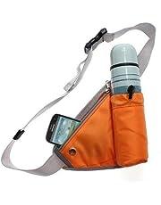 GLIVE (LABEL) Travel Running Sport Waist Pack Water Lightweight Belt Bag Fanny Pack with Bottle Holder