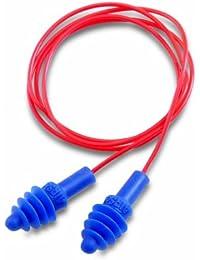 Howard Leight AIRSOFT Paire de bouchons de protection auditive raccordés Réutilisables Boîtier de rangement inclus