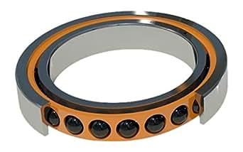 Barden Bearings CZSB114EUL Angular Contact Single Ball Bearing Small Ball Bore 70 mm Spindle 110 mm OD BAR   CZSB114EUL Ceramic Light Preload Sealed Contact Angle 25 Degree