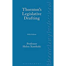 Thornton's Legislative Drafting