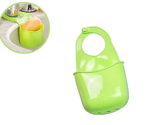 Hosaire 1Pc Creativo Colgantes Almacenamiento Cesta de drenaje organizador de fregadero de cocina accesorio de cepillo esponja soporte para hogar baño almacenamiento
