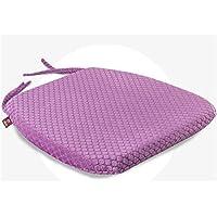Preisvergleich für Yeying123 Pure Memory Foam Luxus Sitzkissen Entlasten Ischias Steißbein und Steißbein Schmerzen,Purple