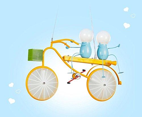 Kronleuchter zu Hause personalisierte Kronleuchte Persönlichkeit Fahrrad Kind Kronleuchter Schlafzimmer Jungen-Raum-Leuchten Moderne Minimalist Kreative LED-Leuchten - 4
