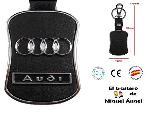 ETMA lla019-3 Llavero metal cuero Audi