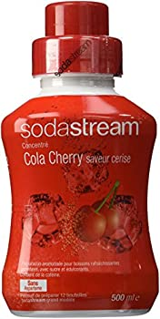Sodastream Concentré Sirop Cola Cherry pour Machine à Soda 500 ml