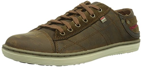 skechers-uomo-sorino-pantalone-scarpe-sportive-marrone-size-485