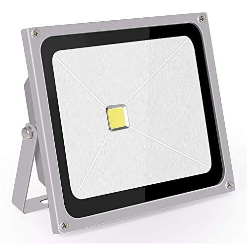 Proyector LED Exterior 50W Blanco Frio Foco Led IP65 Roleadro Led Reflector...