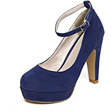 Scarpe Blu Tacco Alto