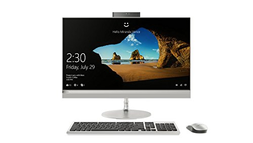 Lenovo Ideacentre AIO 520 68,6 cm (27 Zoll QHD VA) All-in-One Desktop-PC (Intel Core i5-8400T, 8 GB RAM, 1 TB HDD + 128 GB SSD, DVD-Brenner, AMD Radeon RX550 4 GB, Wifi, Windows 10 Home) silber