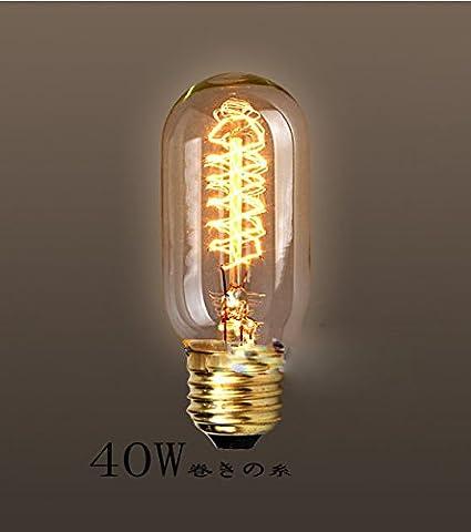 fsliving 6ampoules à incandescence 40W EDISON Ampoule T45& # nitrure; wanding tungstène & # enduit;