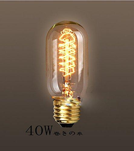 fsliving 6-pack 40W Edison lampadina t45Lampadina a incandescenza & # xFF08; wanding tungsteno & #