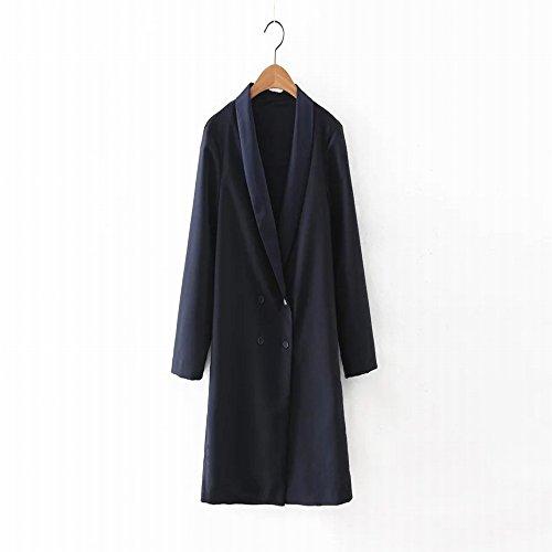 À moyen et à long terme, Mme jacket automne- double élégant M