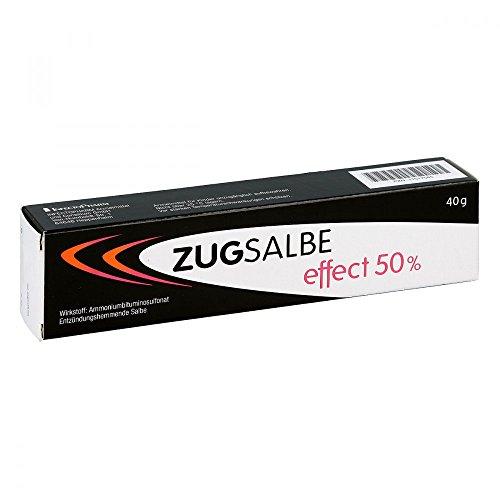 Zugsalbe effect 50%, 40 g Salbe