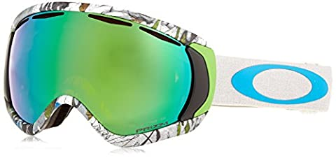Oakley Erwachsene Snowboardbrille Canopy, Tanner Hall Signature Series White /