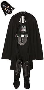 Lucas - Disfraz Darth Vader para niños, talla L (ST-155019L)