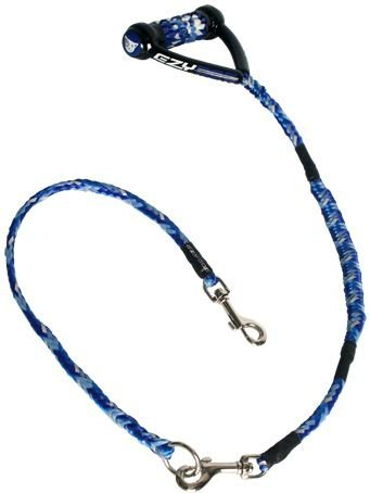 EzyDog Leine CUJO combo A 25 100cm Plus1 CUJO extension 24 blau