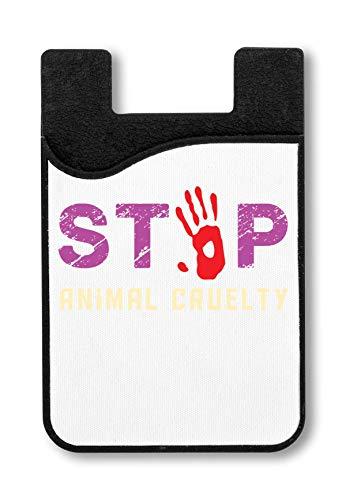 Stop Animal Cruelty Kreditkarteninhaber für Smartphone -