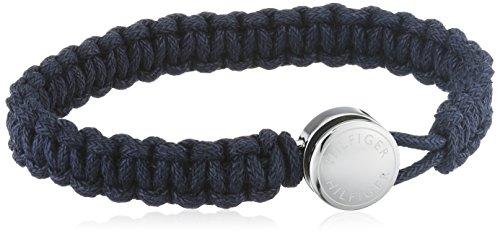 Tommy Hilfiger Herren-Armband Edelstahl Stoff 21.5 cm - 2700947