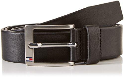Tommy Hilfiger Herren New Aly Belt Gürtel, Schwarz (BLACK), 105(UK) - Eigene Mode-accessoires