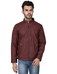 Derbenny High Quality Premium Cherry Leather Jacket For Men