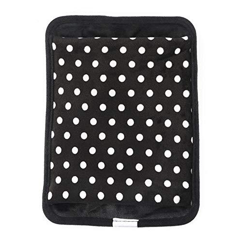 A1-Brave Wärmflaschen Hot Water Bag Elektro-Winter-Handwärmer Wärmflasche Hand Po Eingesetzte Elektrische Lade Wärmflasche (Color : Black)