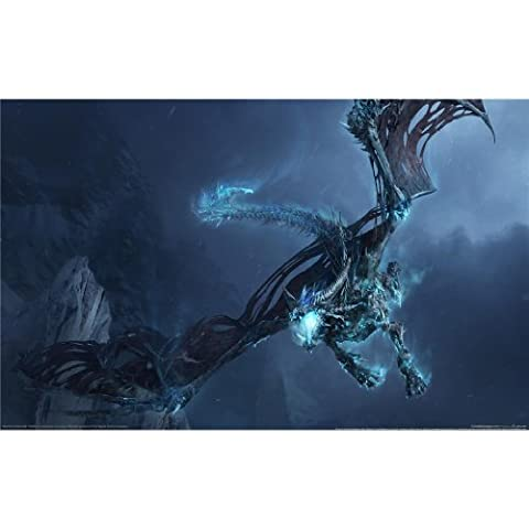 Poster Warcraft - World of WarCraft Poster On Silk <96cm
