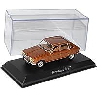 Renault 16 R16 TX 1976 grau metallic Modellauto 511621 Norev 1:43