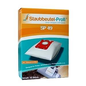 10 Sacs d'aspirateur pour Philips Sydney / HR 6999 Made in Allemagne - de la marque Staubbeutel-Profi® (aspirateurs professionnels)