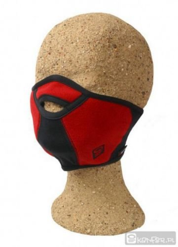 Kanfor ' Profimaske Snowboard Face Maske Mort Teilen, Polartec Windbloc Größe L/XL Rot