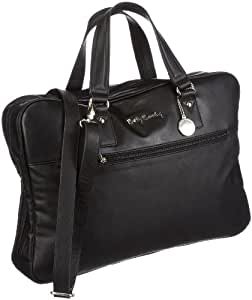 betty barclay professional soft grain briefcase womens. Black Bedroom Furniture Sets. Home Design Ideas