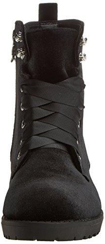 XTI Damen 047202 Stiefel Schwarz (Black)