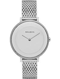 Skagen Damen-Armbanduhr Analog Quarz Edelstahl SKW2332