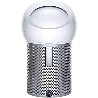 Dyson Pure Cool Me Personal Air Purifier Fan, White, (H) 40.1 x (W) x (D) 24.5