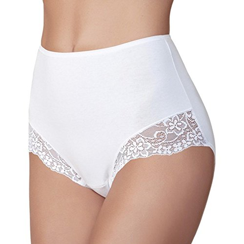 Janira 2 Pack Braga Essential Medium White High Waisted Silk