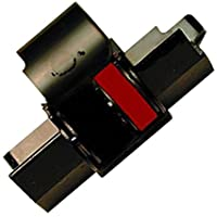 Farbbandfabrik - Rodillo entintador compatible con Canon MP 120 MG (tamaño 745), color rojo/negro