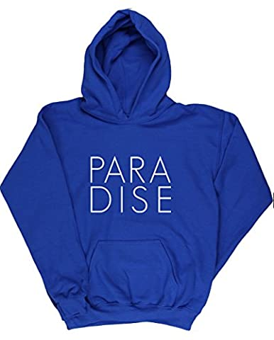 HippoWarehouse PARADISE kids unisex Hoodie hooded top