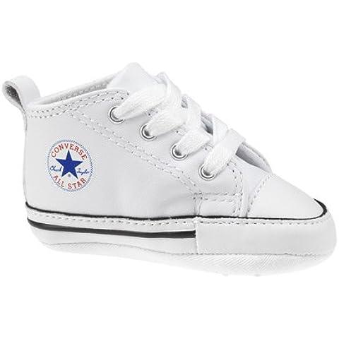 Converse First Star Baby Boy blanco piel