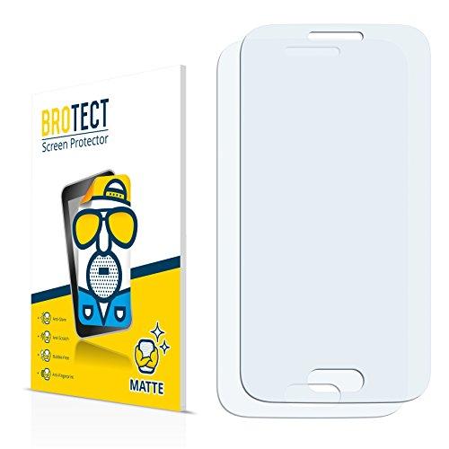 BROTECT Schutzfolie Matt für Samsung Galaxy V SM-G313HZ Displayschutzfolie [2er Pack] - Anti-Reflex Displayfolie, Anti-Fingerprint, Anti-Kratzer