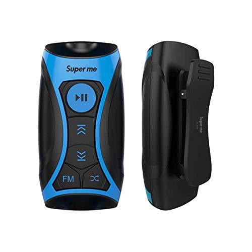 Superme MP3-Player, 100% wasserdicht, 8 GB, mit FM-Radio und Unterwasserkopfhörern zum Schwimmen von Schwimmen