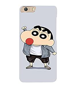 EPICCASE Ching Shang Mobile Back Case Cover For Micromax Canvas Knight 2 E471 (Designer Case)