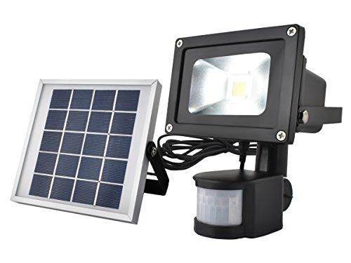 SOLARLICHT LED Außenleuchte Solarleuchte Flutlicht Wandleuchte Sensor-Licht#5357