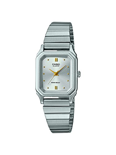 Casio Collection Damen-Armbanduhr LQ400D7AEF (Casio Damen-uhr Silber)