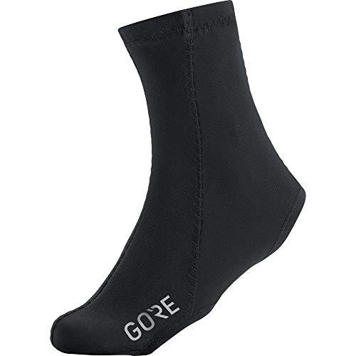 Gore wear c3 partial windstopper, copriscarpe uomo, nero 2018, 45/47