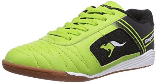 KangaROOS KangaCourt 2075, Sneakers basses garçon Jaune - Gelb (lime/black 851)